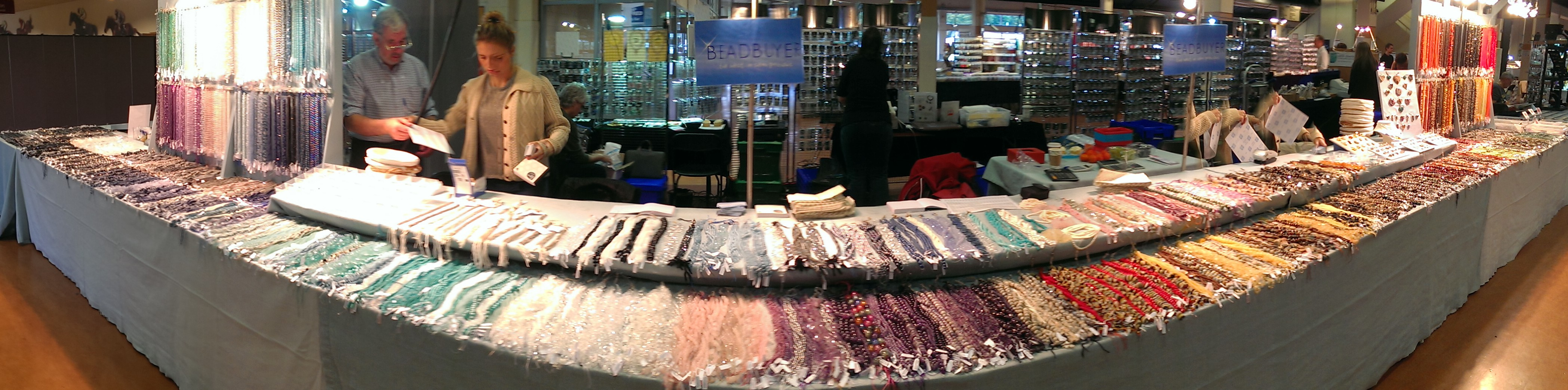 Beadbuyer at The Big Bead Show